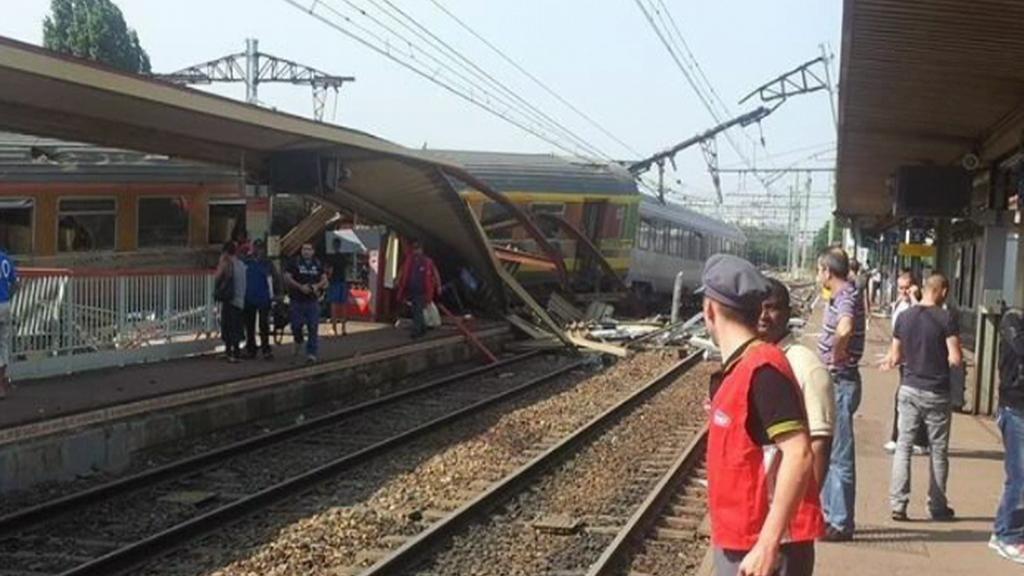 Nehoda vlaku ve Francii