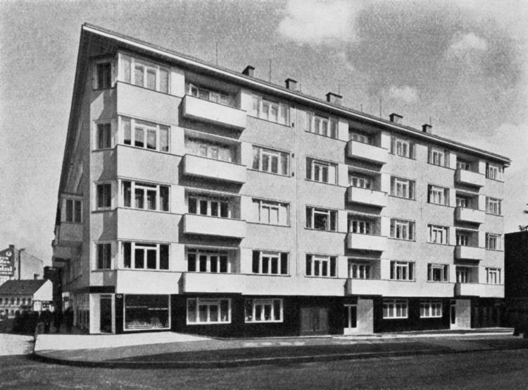 Nájemní domy od Viléma a Aloise Kuby