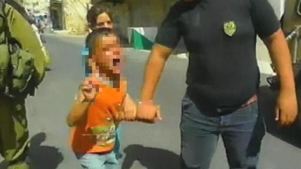 Izraelští vojáci zadrželi pětiletého Palestince