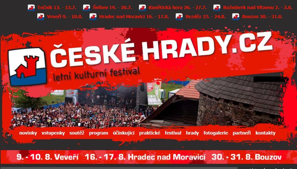 Festival Hrady CZ
