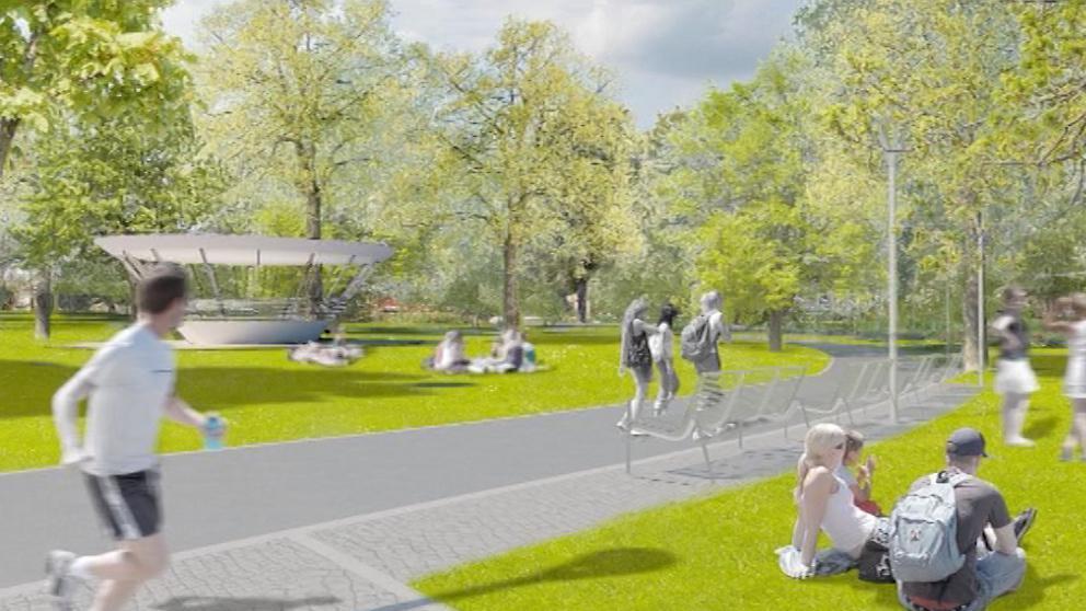 Budoucí podoba Komenského parku