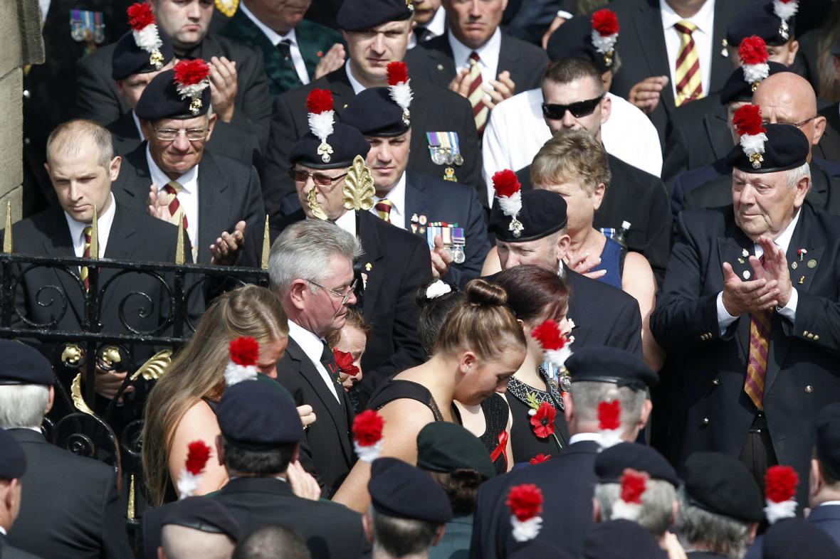 Pohřeb Leea Rigbyho