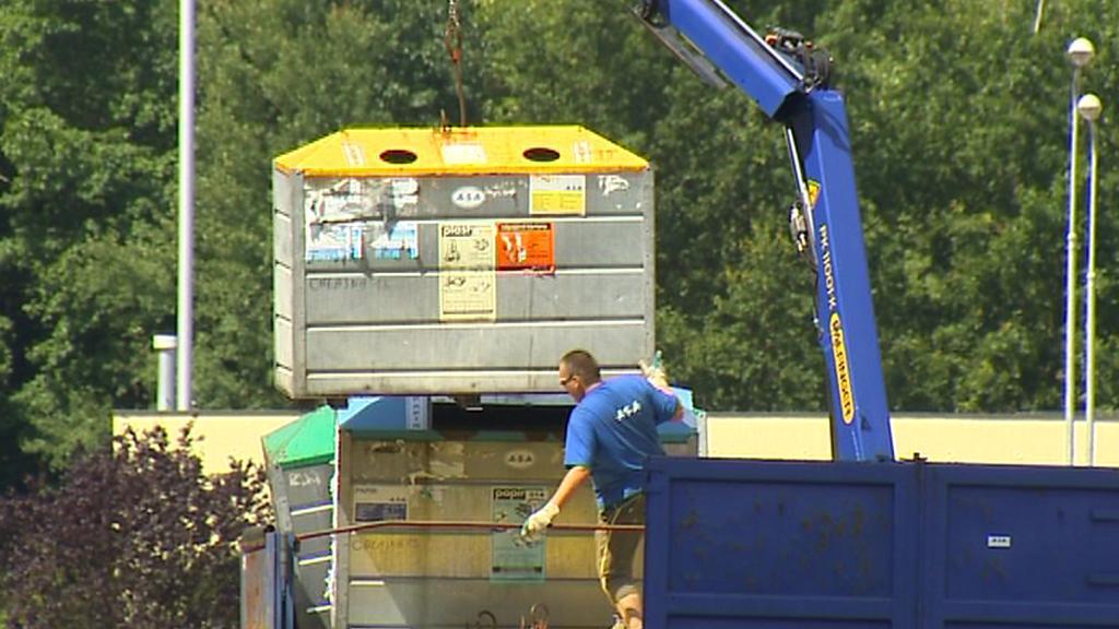 Odstraňování kontejnerů