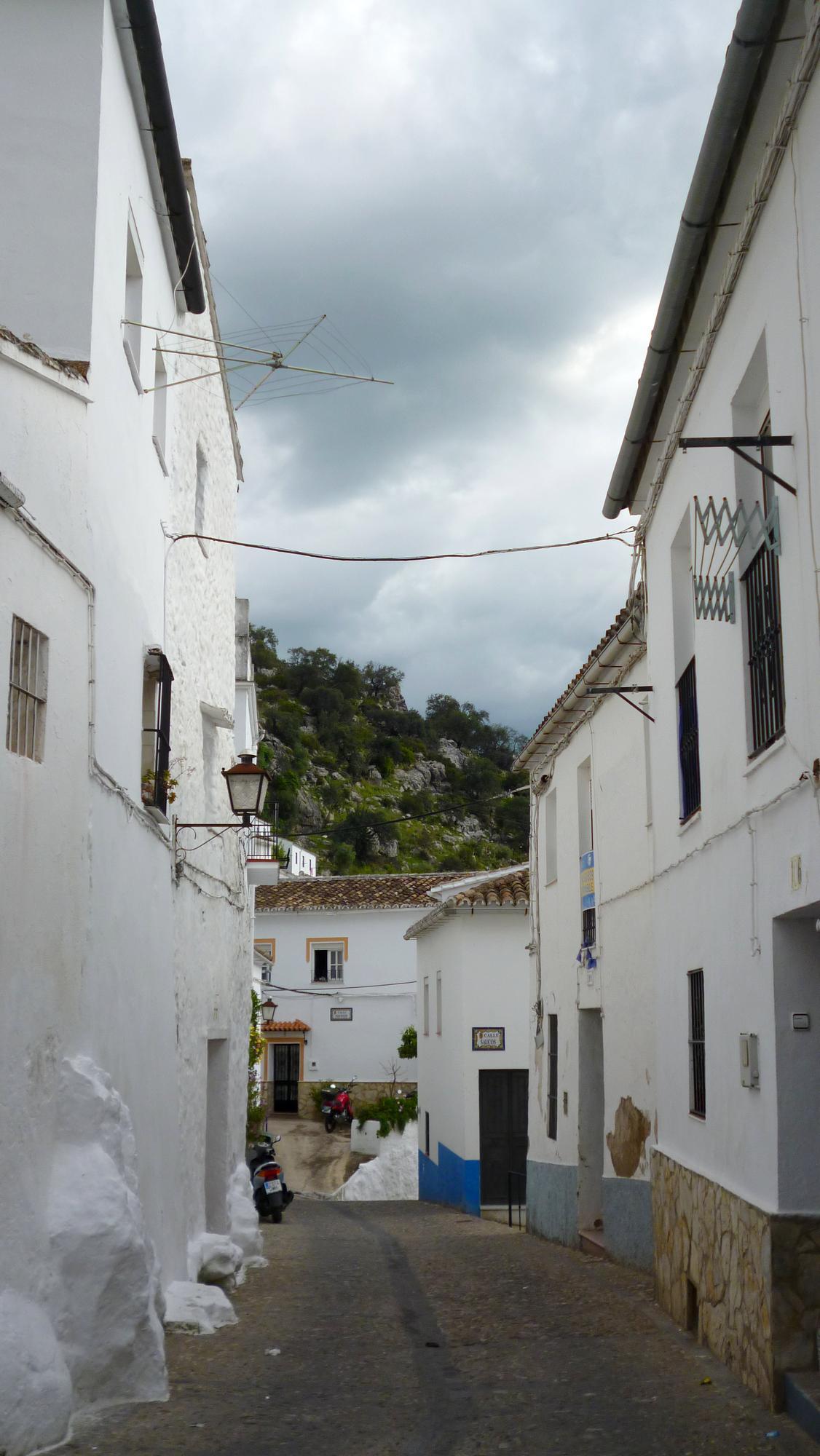 Typická ulička v Ubrique