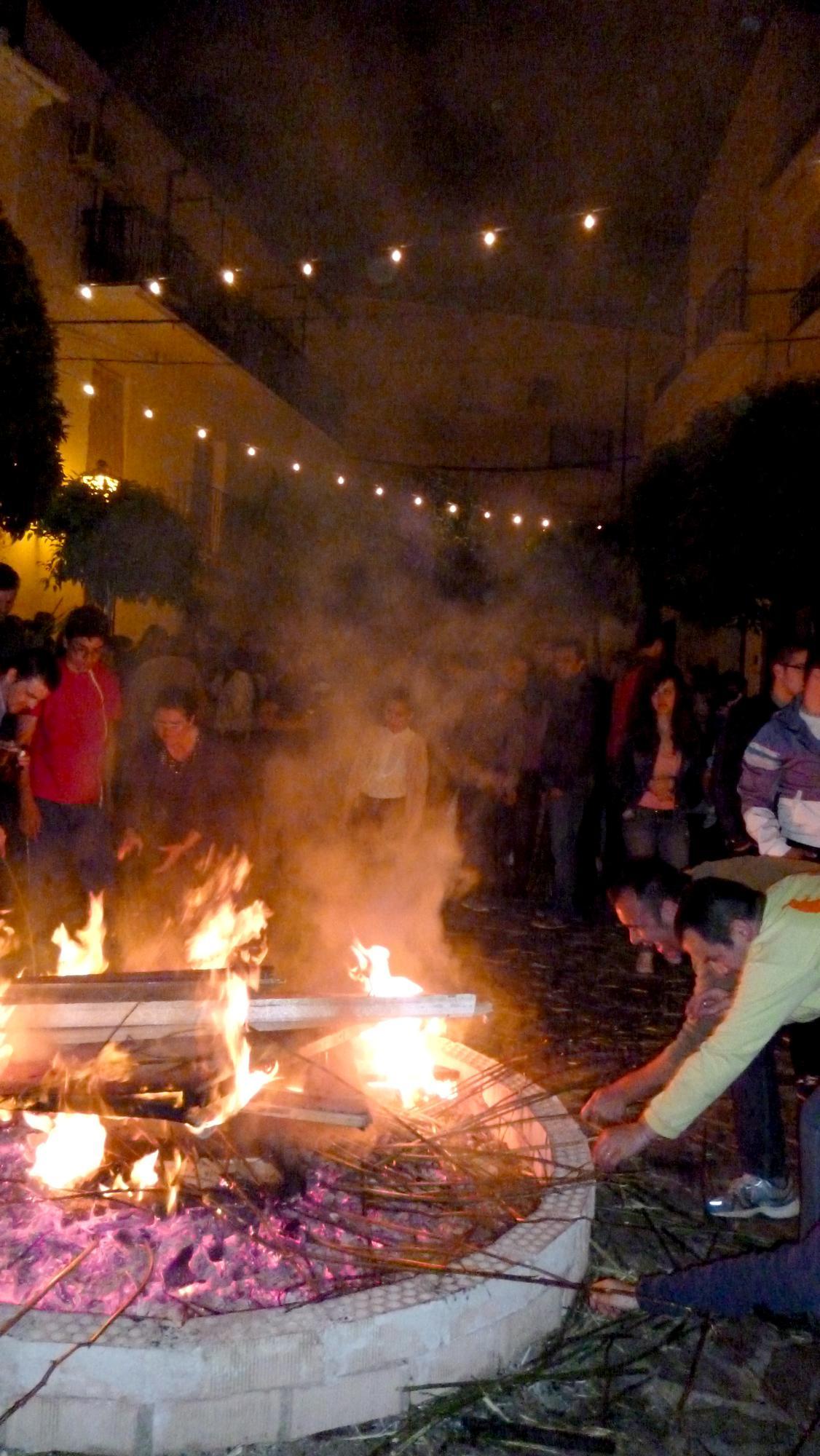 Fiesta de gamón v ulicích Ubrique