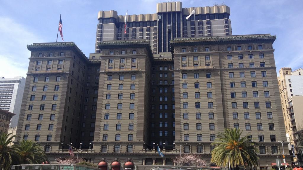 Výškové budovy v centru San Francisca