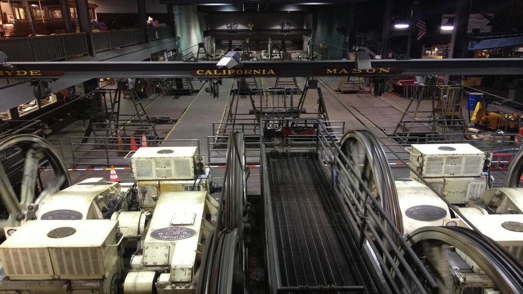 Interiér Cable Car muzea