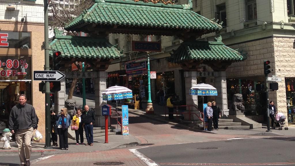 Vstupní brána do čínské čtvrti