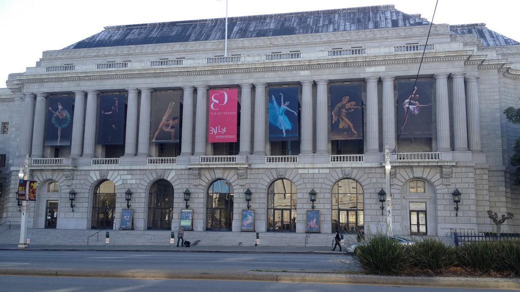 War Memorial Opera House - místo zrodu OSN