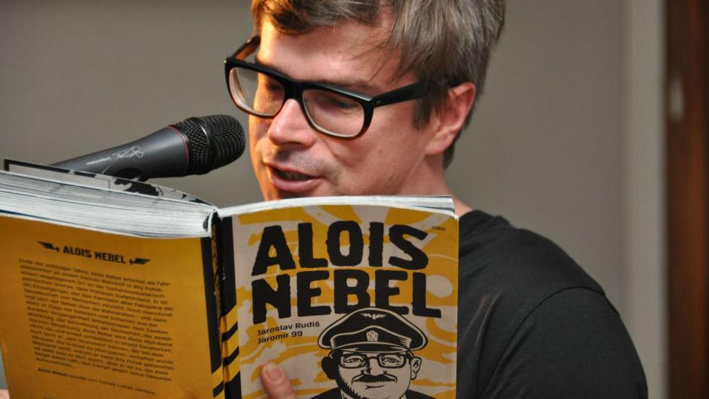 Jaroslav Rudiš a Alois Nebel