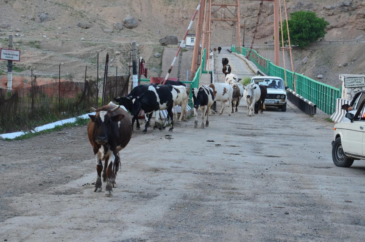 Čarvak, Uzbekistán