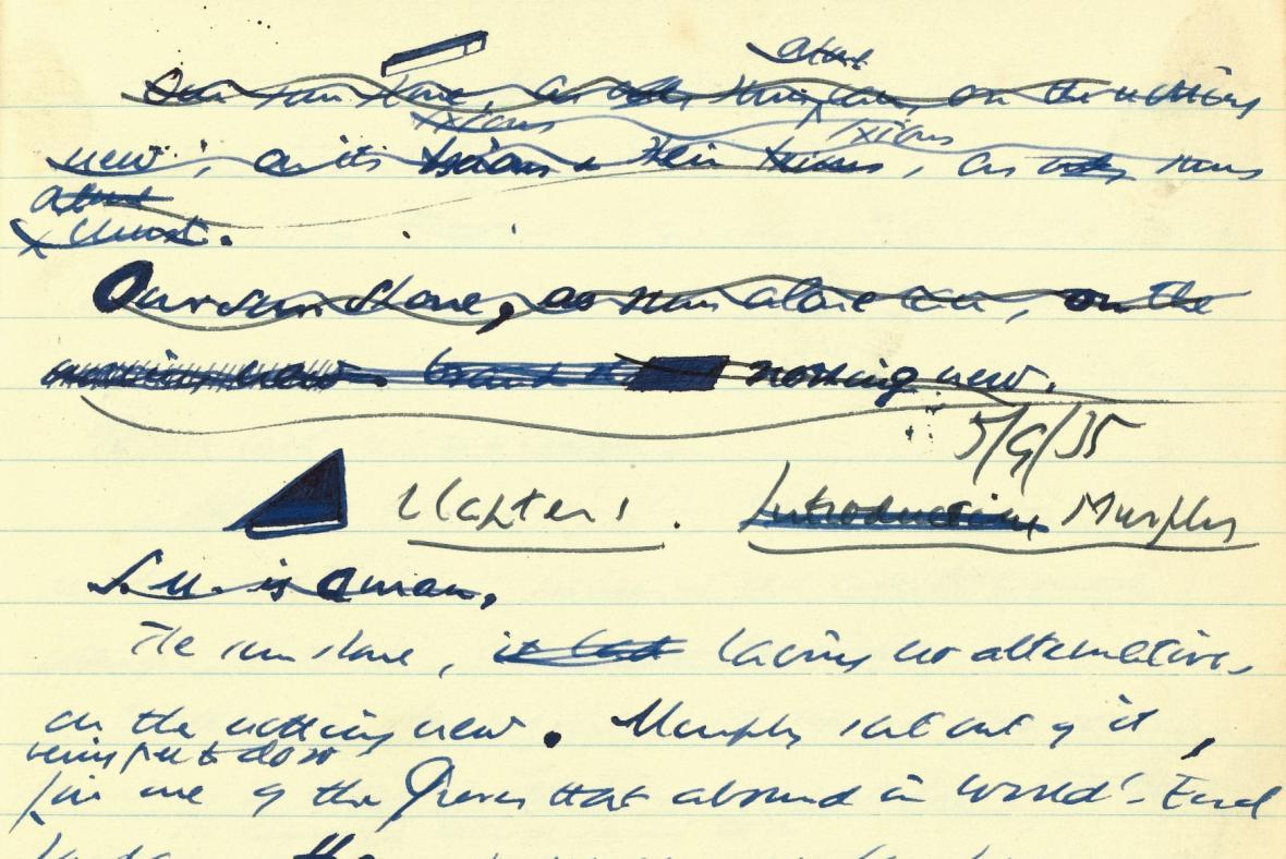 Rukopisy Samuela Becketta