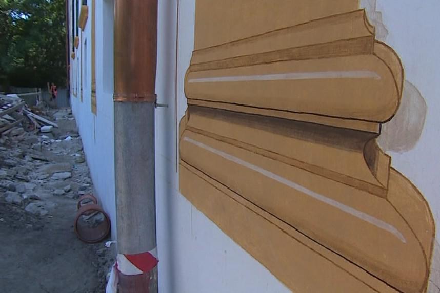 Iluzorní malba fasády