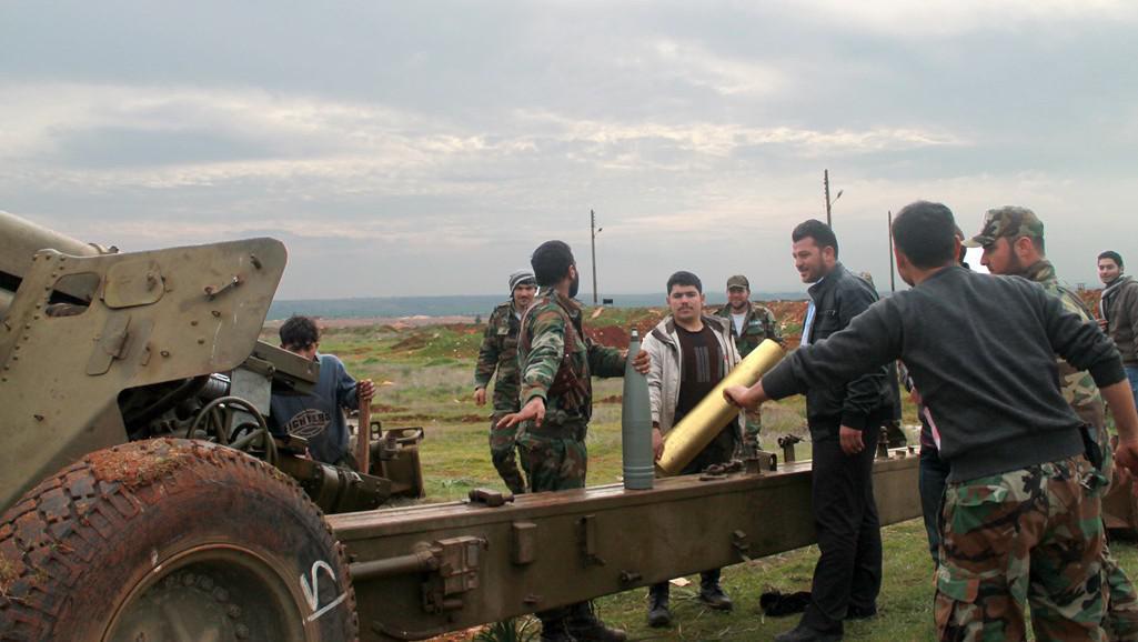 Vojáci syrské opozice