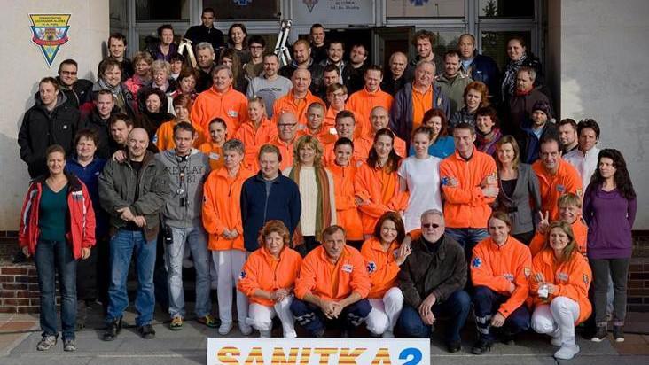 Tvůrci a herci seriálu Sanitka II