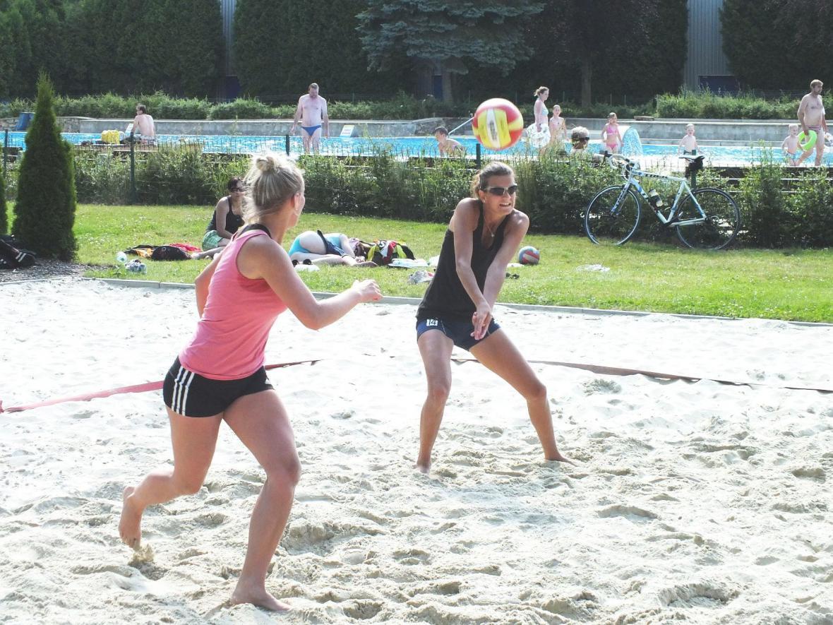 Turnaj plážového volejbalu v Boskovicích