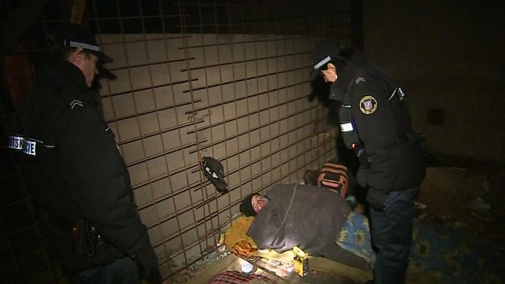 Bezdomovci přespávají v opuštěných prostorách