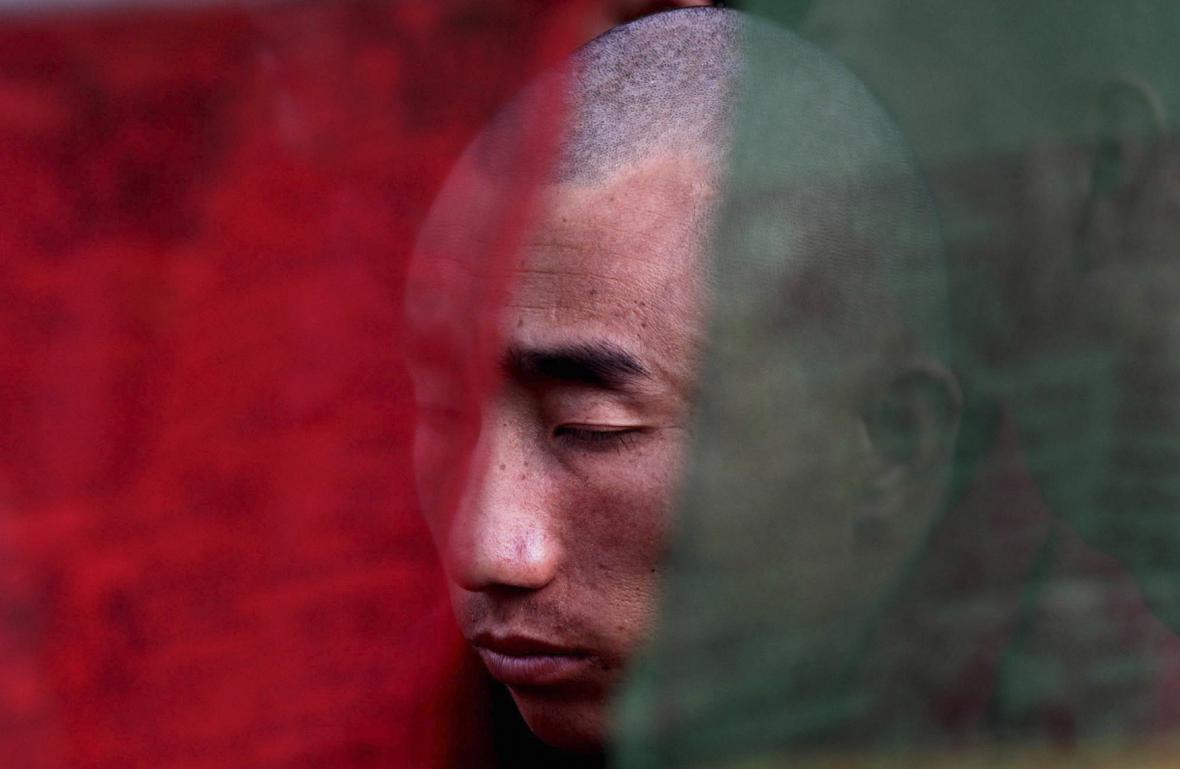 Tibetský mnich