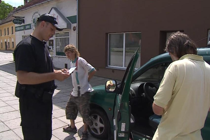 Ivanovický strážník řeší několik přestupků denně