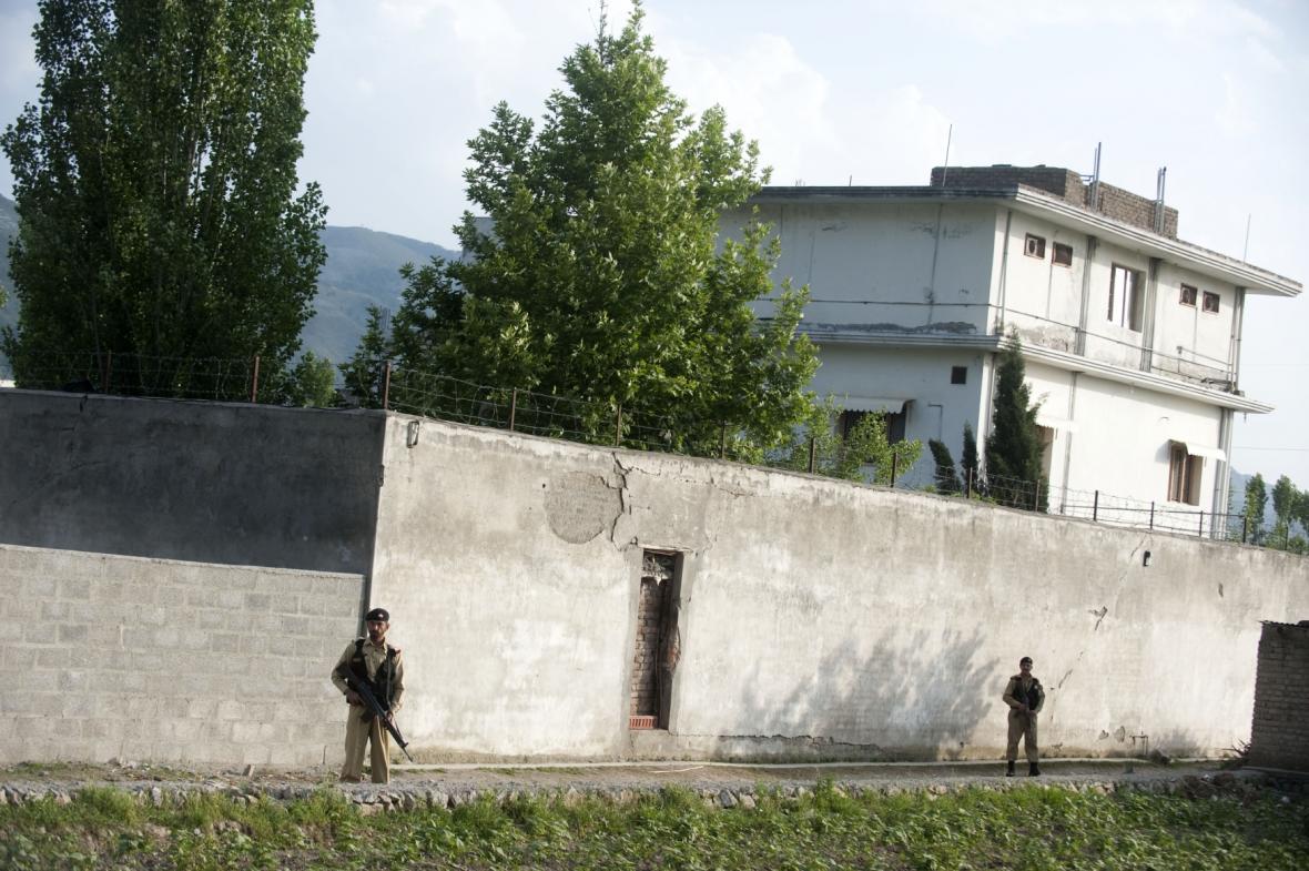 Bin Ládinova pevnost v Abbottabádu