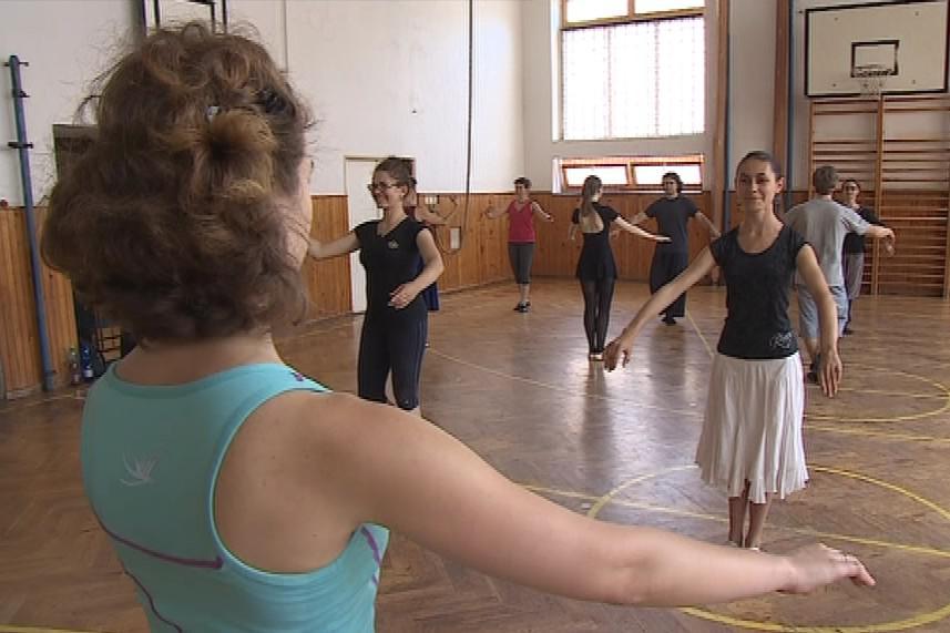 Nácvik barokního tance La Savoye