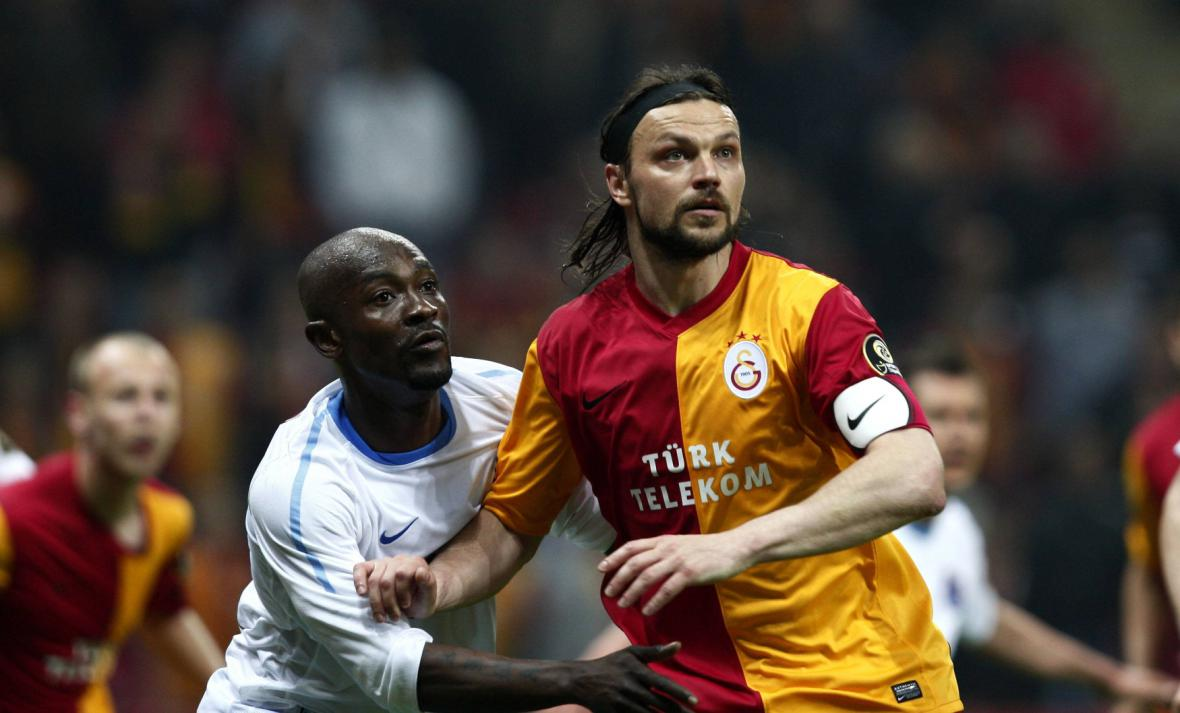 Tomáš Ujfaluši v dresu Galatasaraye