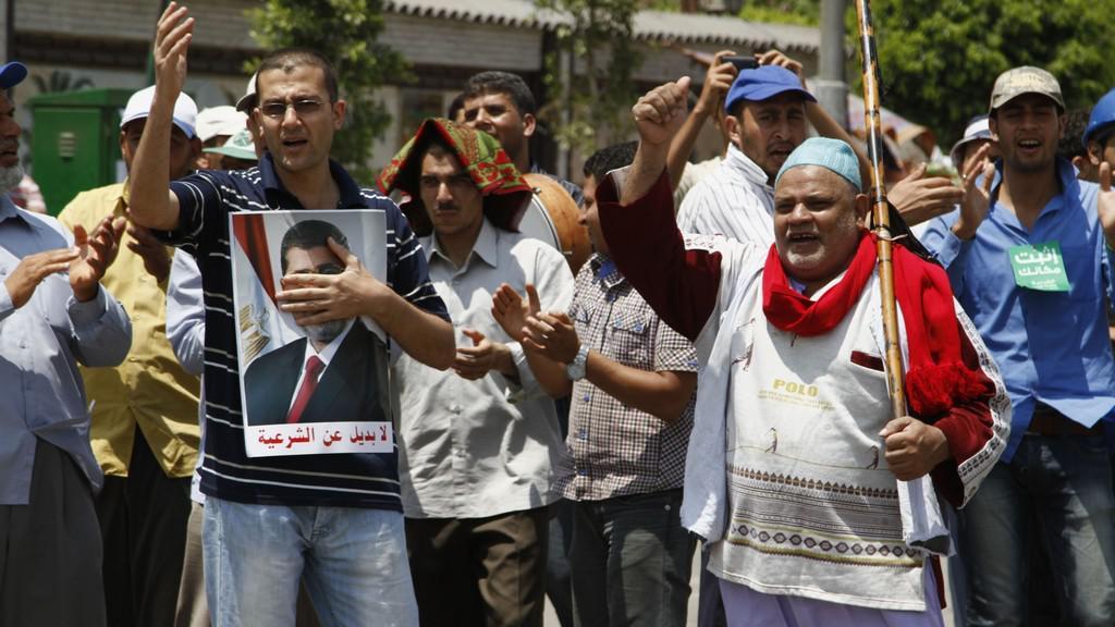 Demonstrace po převratu