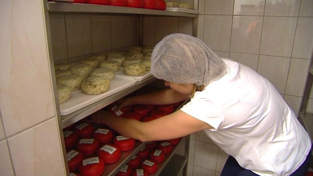 Produkce sýrů