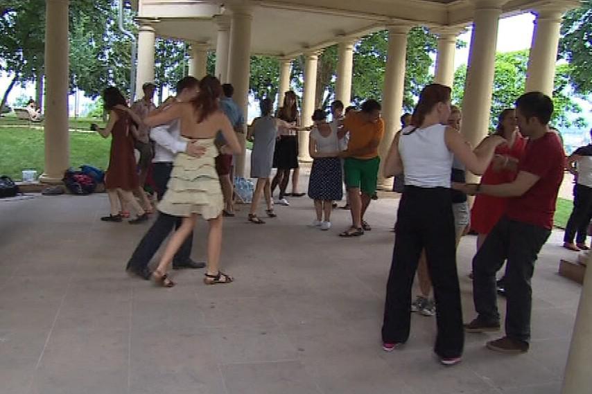 Swingová tančírna pod Petrovem