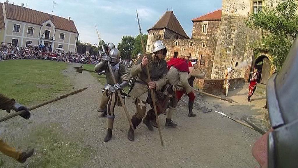 Dobývání hradu Švihov