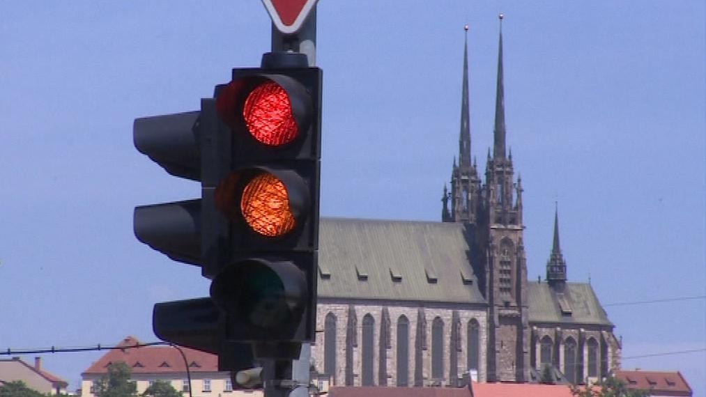 Brno má 143 světelných křižovatek