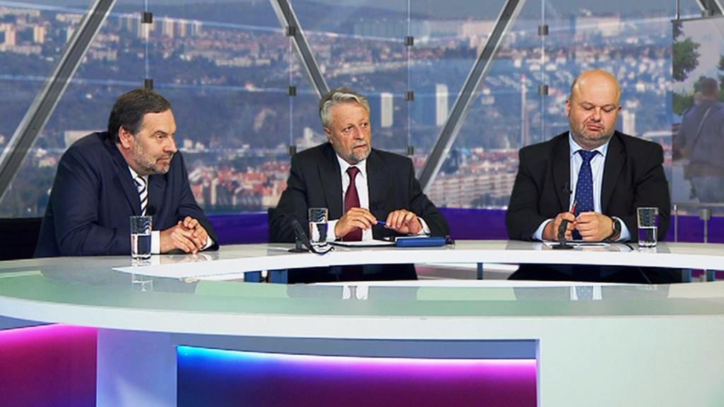 Radek John, František Bublan a Martin Pecina v OVM