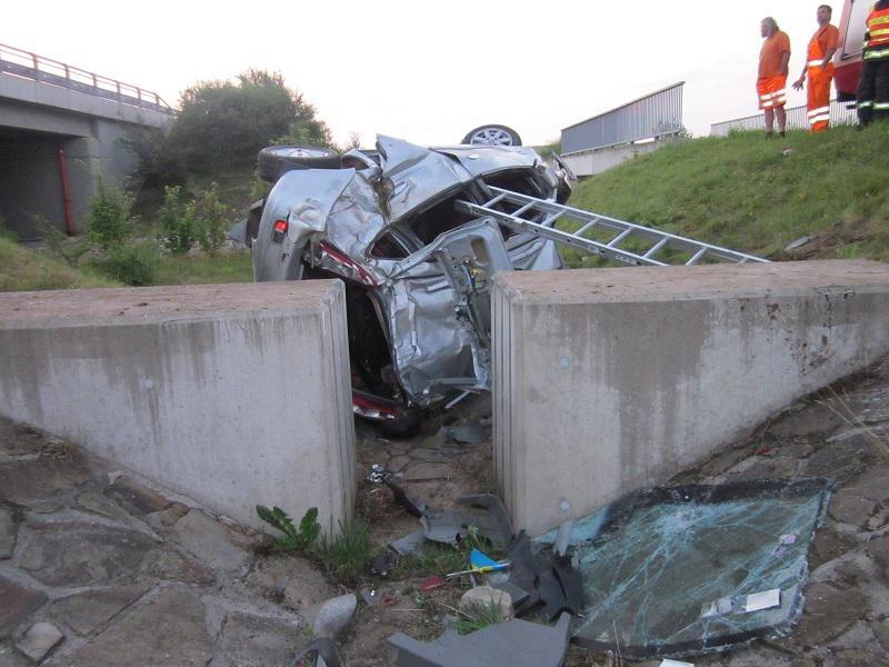 Nehoda se stala po 4. hodině ráno