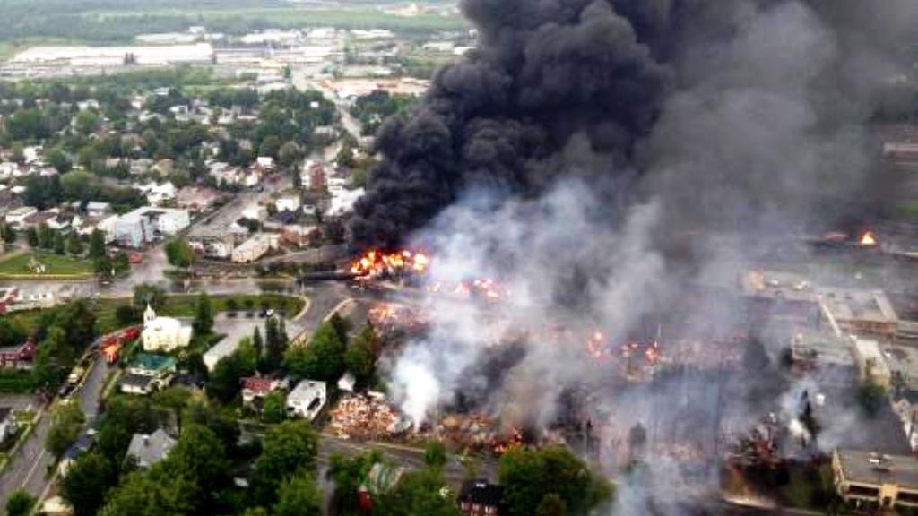 Nehoda vlaku v Kanadě