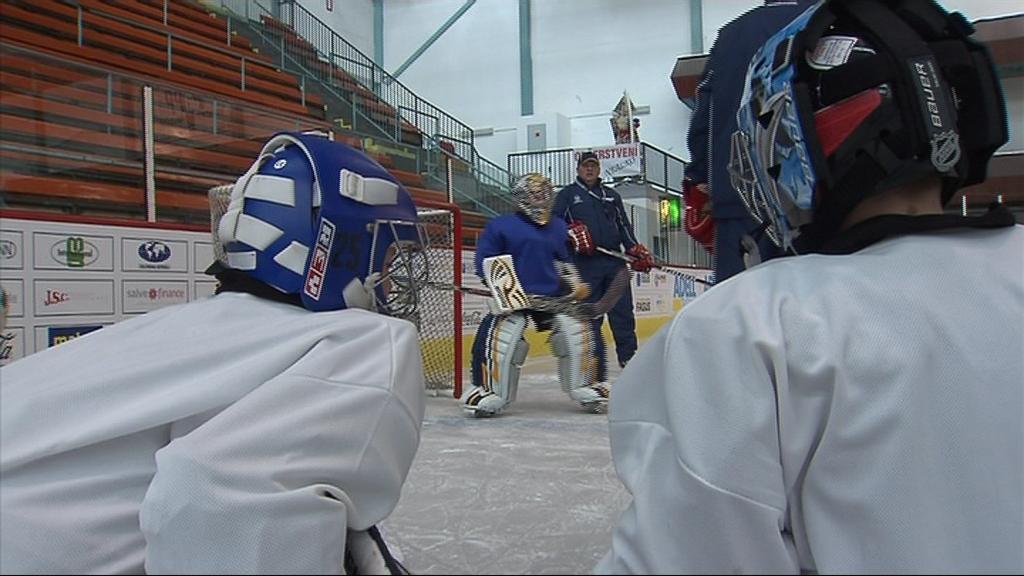 Tréninkový kemp pro hokejové naděje uspořádal Ondřej Pavelec