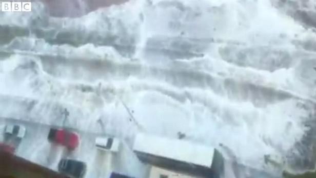 Pobřeží Jižní Ameriky zasáhly vysoké vlny