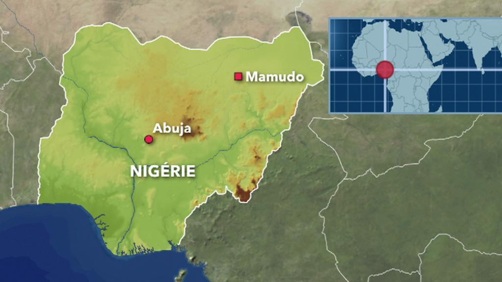 Mamudo na mapě