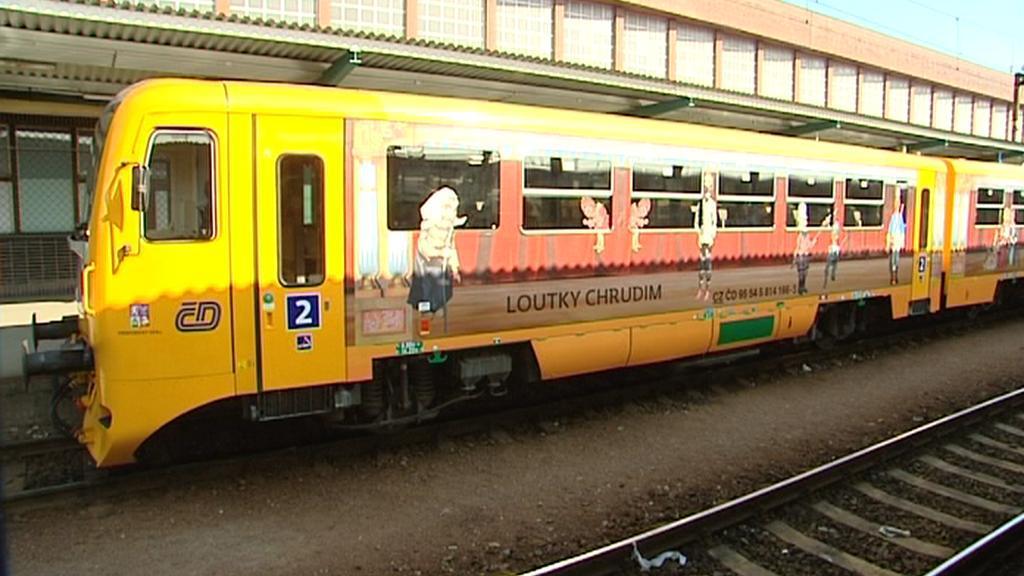 Vlak propaguje kraj