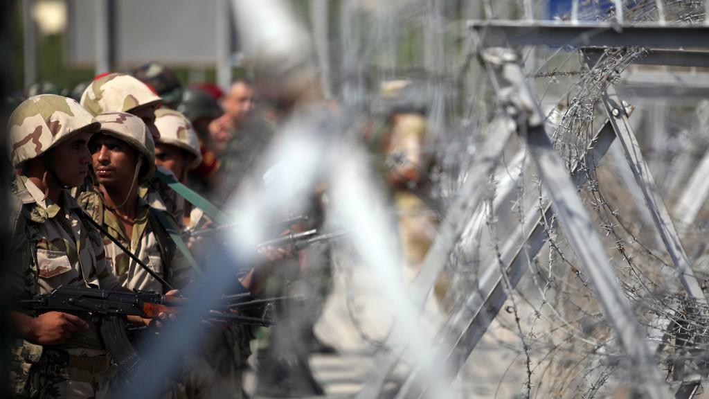Vojáci v Egyptě