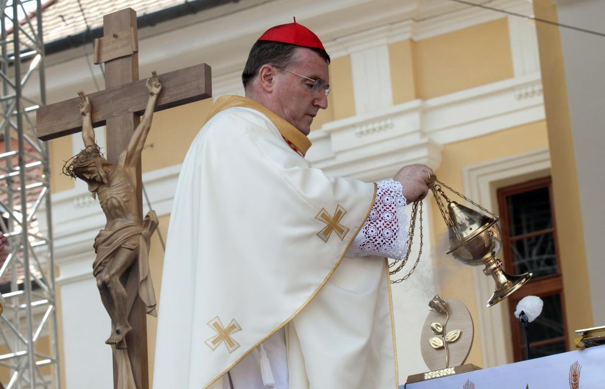 Mši celebroval Josip Bozanić