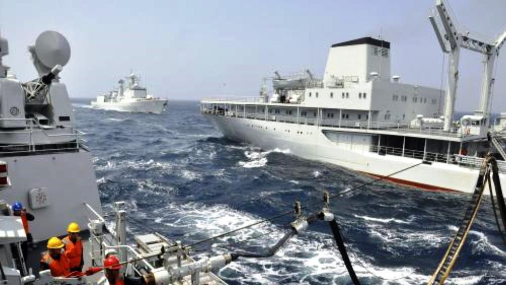 Rusko-čínské námořní manévry