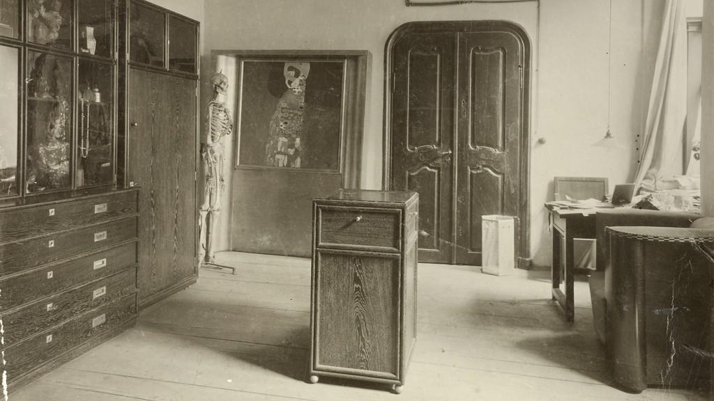 Předpokoj Klimtova ateliéru