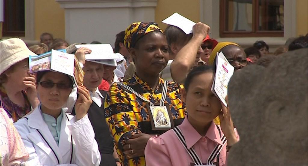 Na slavnost zamířili i hosté z ciziny