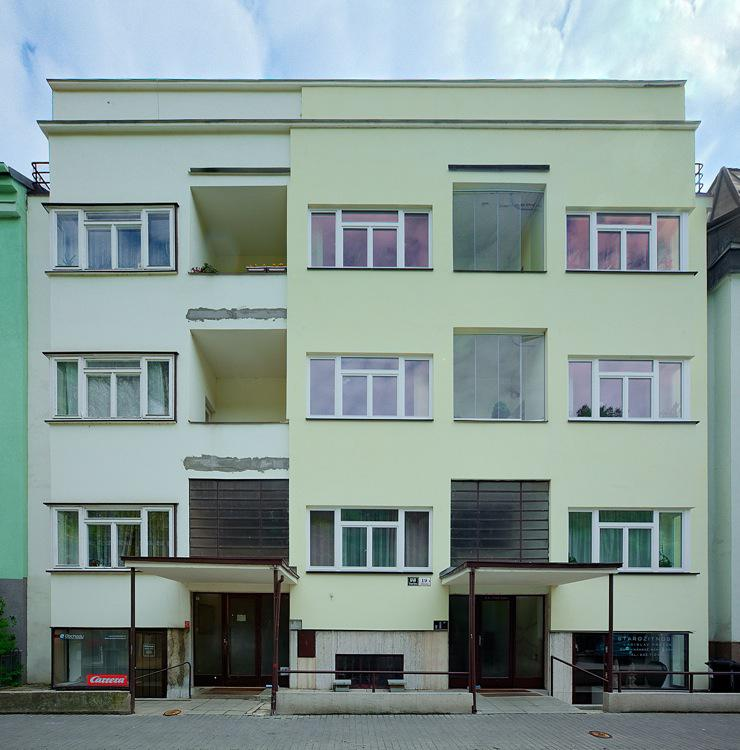 Nájemní domy na ulici Pellicova