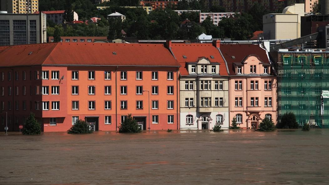 Záplavy v Ústí nad Labem