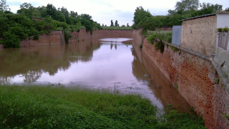 Zaplavený Terezín