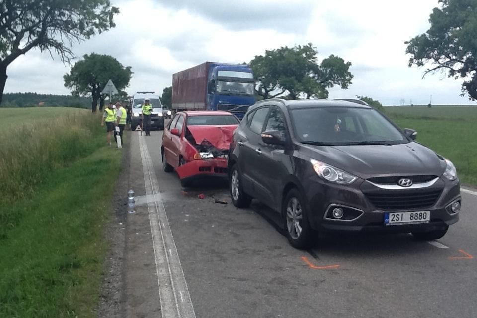 I na objízdné trase došlo k drobným nehodám
