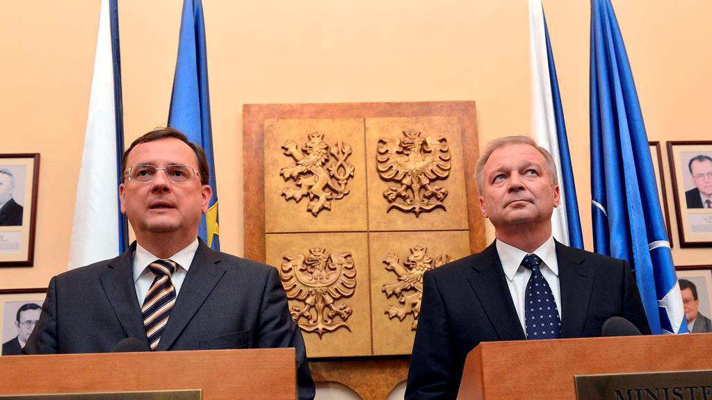 Petr Nečas a Vlastimil Picek