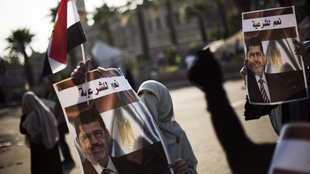 Přívrženci svrženého prezidenta Mursího