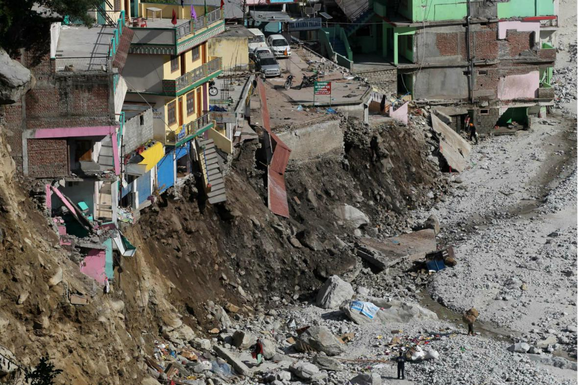 Následky záplav v Indii